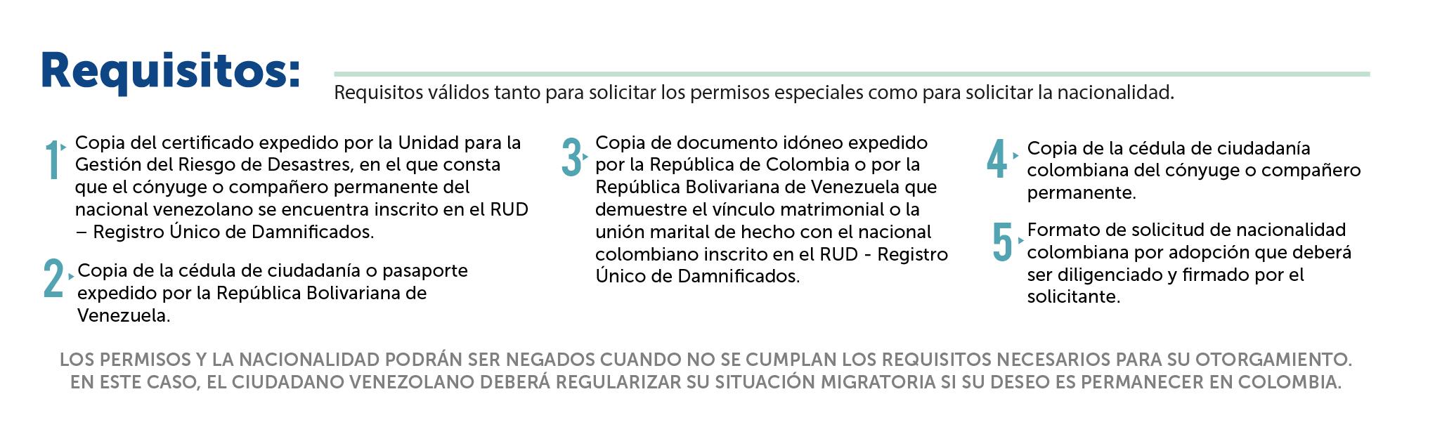 Requisitos para adoptar procedimientos y requisitos para obtener la nacionalidad - Requisitos para casarse ...