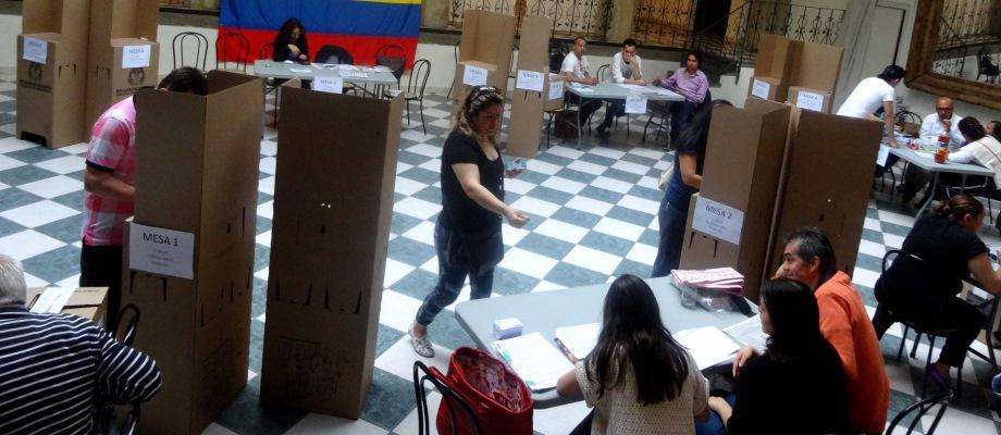 A Las 6 De La Tarde Hora Colombiana Terminaron Las Votaciones En El Exterior Canciller A