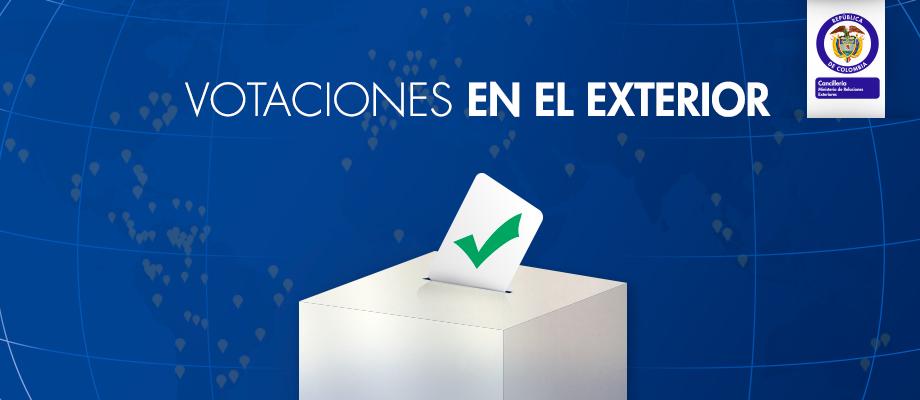 Abiertas Las Votaciones Para Los Colombianos Que Residen En El Exterior Canciller A
