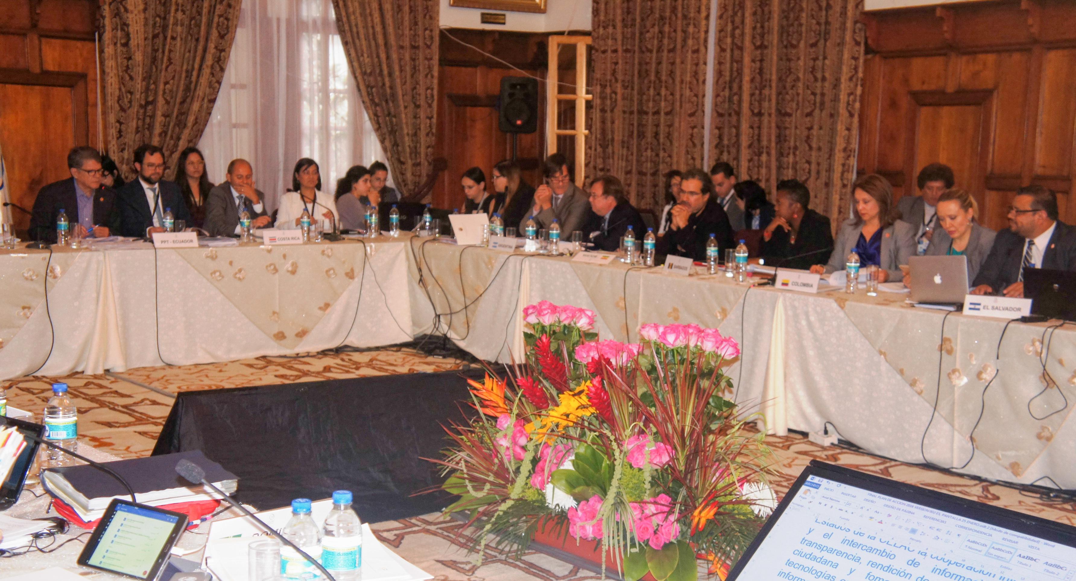 Colombia particip en la xvi reuni n de coordinadores - Ministerio relaciones exteriores ecuador ...