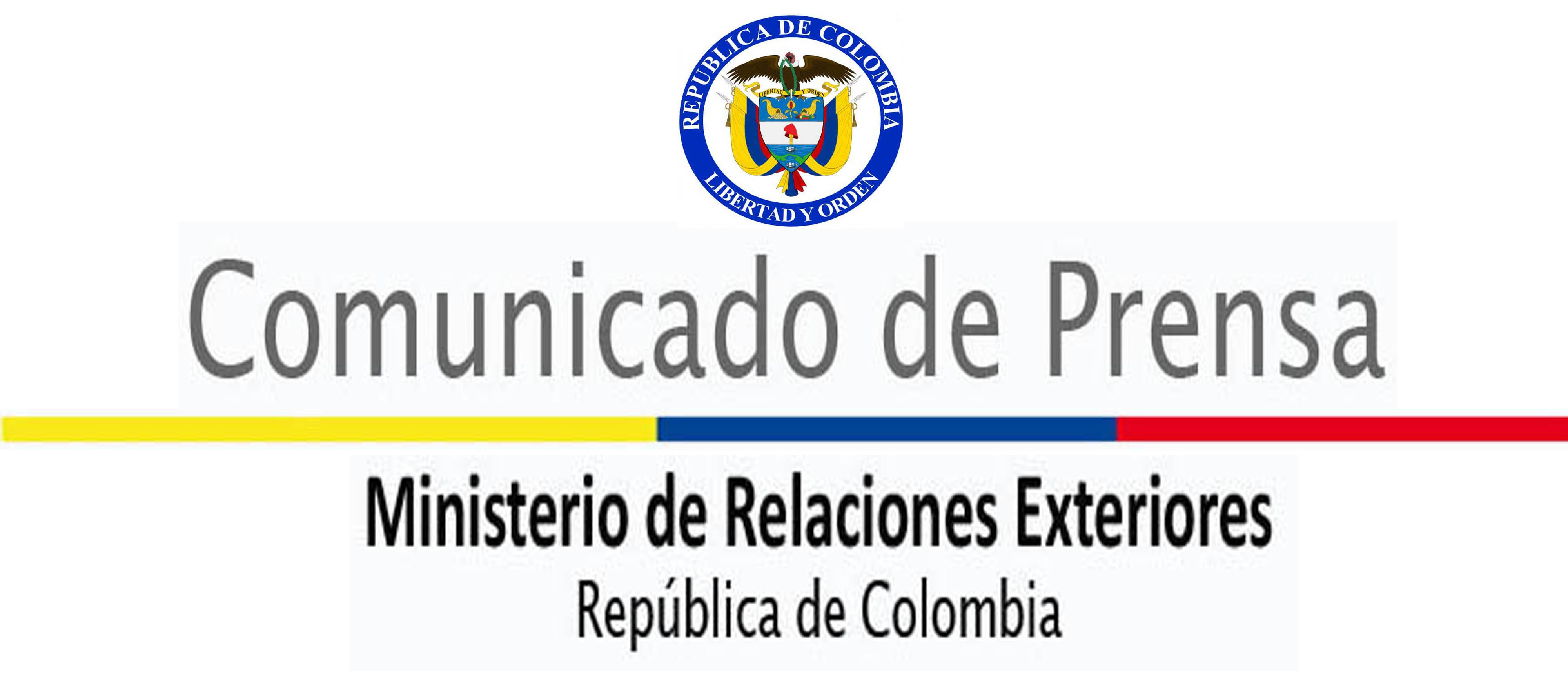ministerio de relaciones exteriores de colombia canciller a