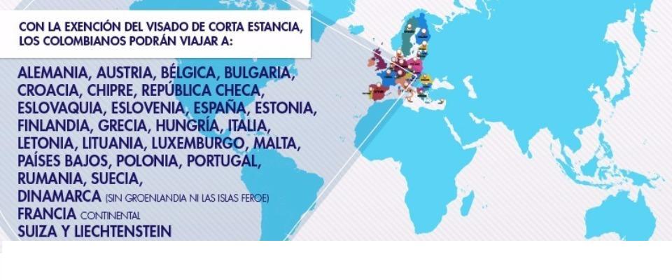 Canciller Holguin Firmo En Bruselas Acuerdo Que Permite A Los Colombianos Viajar Sin Visa