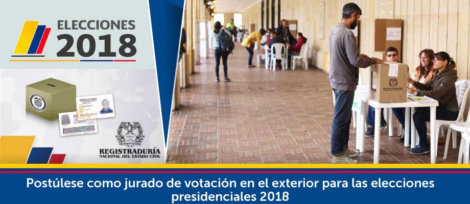 Post Lese Como Jurado De Votaci N En El Exterior Para Las Elecciones Presidenciales 2018