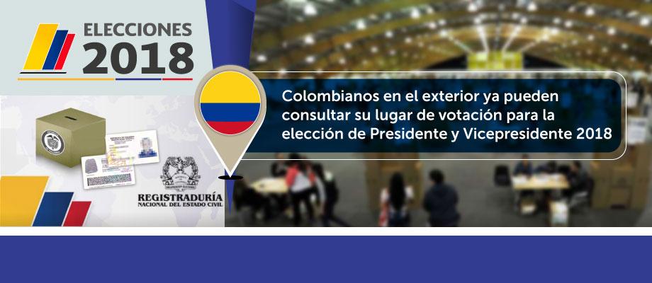 Colombianos En El Exterior Ya Pueden Consultar Su Lugar De Votaci N Para La Elecci N De