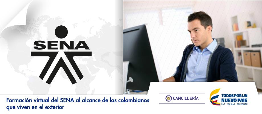 Formación virtual del SENA al alcance de los colombianos que viven en el exterior