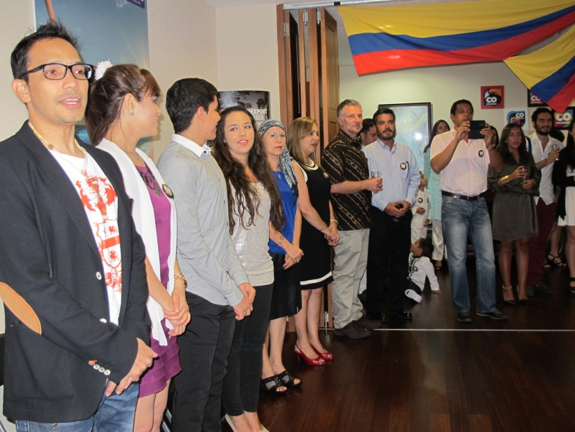 En Im Genes Colombianos En El Exterior Celebraron El D A De La Independencia Nacional Canciller A