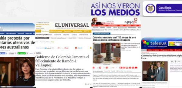 Sala De Prensa Medios Canciller A