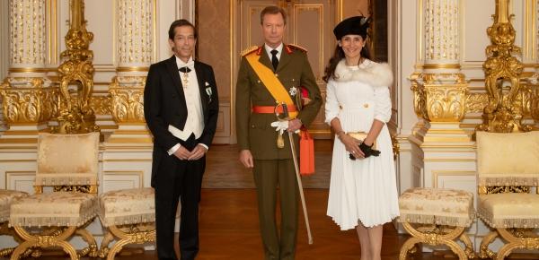 Presentación de Cartas Credenciales ante el Gran Ducado de Luxemburgo