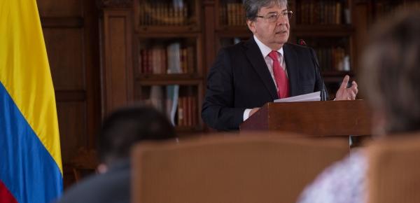 Tenemos que recuperar el liderazgo que tuvo Colombia en los escenarios multilaterales en materia de lucha contra el problema mundial de la droga: Canciller Carlos Holmes Trujillo