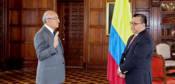 Diego Cardona Cardona, nuevo director de la Academia Diplomática en 2018