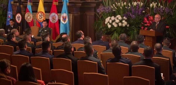 Director de la Academia Diplomática presidió clausura del tercer módulo del Curso para Agregados Militares - CAMI I - 2018