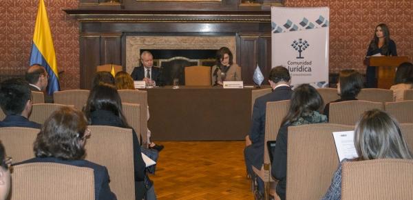 La Cancillería participó en el Conversatorio 'Los Desafíos del Sistema Internacional de Solución de Controversias Inversionista Estado: Más allá de la Transparencia'