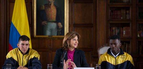 Cancillería colombiana, entre los tres finalistas a premio internacional de paz, diálogo y estabilidad social a través del deporte