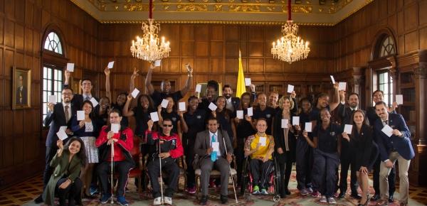 El Ministerio de Relaciones Exteriores se unió a la celebración del Día Internacional del Deporte para la Paz