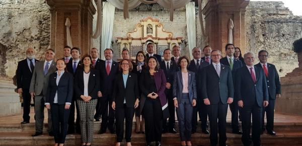 Así se desarrolló la II Reunión de Ministros de Relaciones Exteriores de la Conferencia Iberoamericana, en la que participó la Canciller Holguín