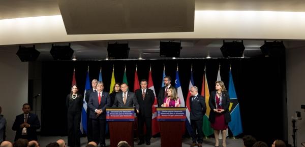 Desde Canadá, Grupo de Lima reitera su profunda preocupación por la grave situación humanitaria en Venezuela causada por el régimen de Maduro
