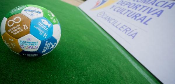 Iniciativa Diplomacia Deportiva aporta al cumplimiento de Objetivos de Desarrollo Sostenible