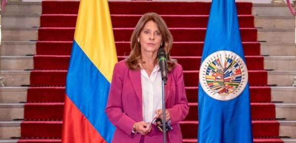 Declaración de la Vicepresidenta y Canciller Marta Lucía Ramírez, al término de la reunión con CIDH