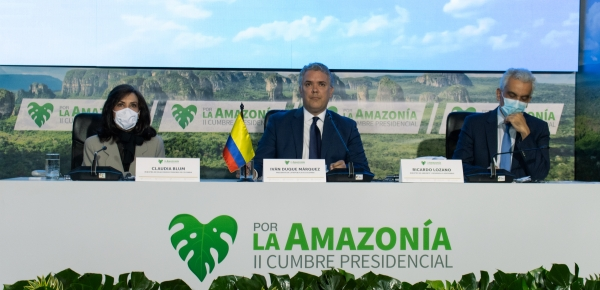 Países de la Amazonía acordaron medidas de financiamiento para viabilizar el Pacto de Leticia