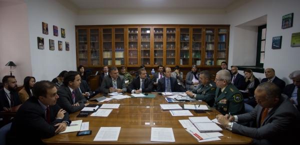 Cancillería lideró la III Comisión Intersectorial del CONPES 3805 'Prosperidad para las Fronteras de Colombia'