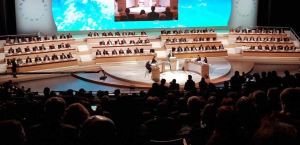 Ministra de Relaciones Exteriores María Ángela Holguín lidera el equipo de Colombia en la Cumbre One Planet en París