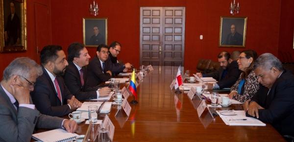 Colombia y Panamá desarrollaron la IX Reunión de la Comisión Mixta