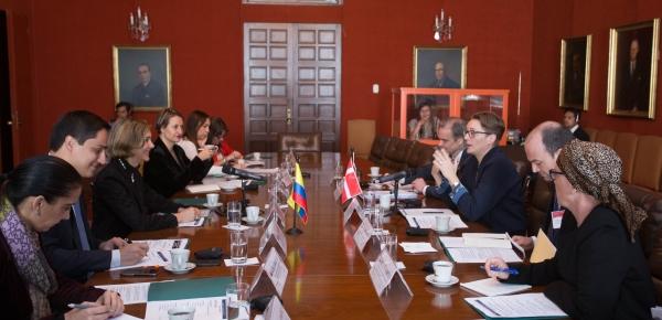 Colombia y Dinamarca desarrollaron su segunda reunión de Consultas Políticas