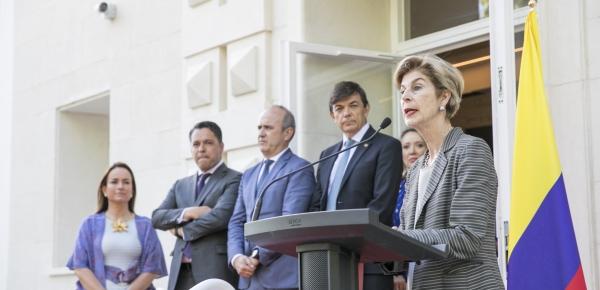 Con la presencia de la Embajadora Carolina Barco se inauguró el Colegio Mayor colombiano Miguel Antonio Caro en el Campus de la Universidad Complutense de Madrid