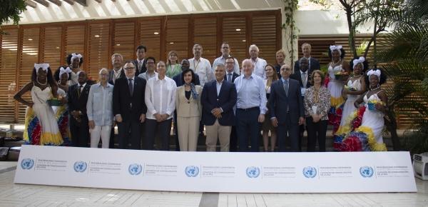 Foto oficial de la Comisión de Consolidación de la Paz de la ONU