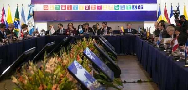 Canciller Carlos Holmes Trujillo participa en la IV Reunión de Ministros de Relaciones Exteriores de la Conferencia Iberoamericana