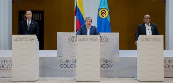Es el inicio de una relación con Caricom renovada, revitalizada y vigorizada: Canciller Holmes Trujillo al finalizar primer encuentro ministerial entre Colombia y la comunidad del caribe