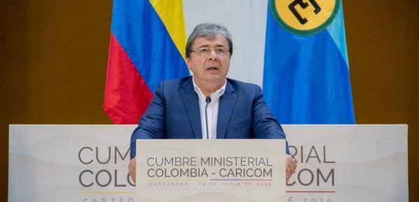 Declaración de Cartagena de Indias de la Primera Reunión Ministerial Colombia-CARICOM