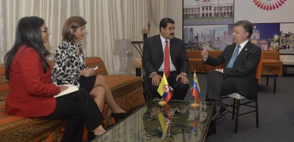Alt Cumbre de Celac fue escenario de la conversación entre los Presidentes de Colombia y Venezuela sobre temas de interés para ambos países