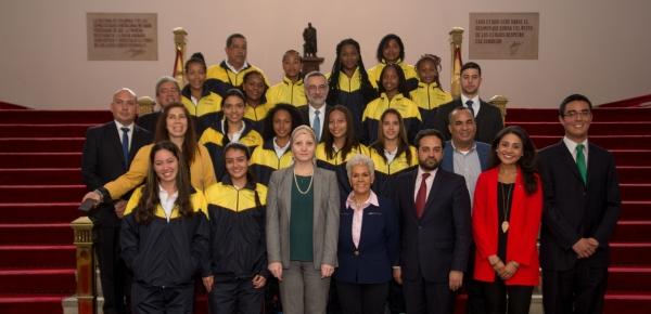 Diplomacia Deportiva: jóvenes voleibolistas de Caucasia y Providencia representarán a Colombia en la Copa Ciudad Maravillosa durante intercambio deportivo en Brasil