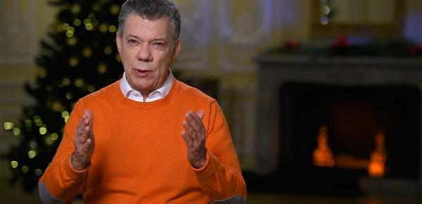 Saludo de Navidad del Presidente Juan Manuel Santos a los colombianos