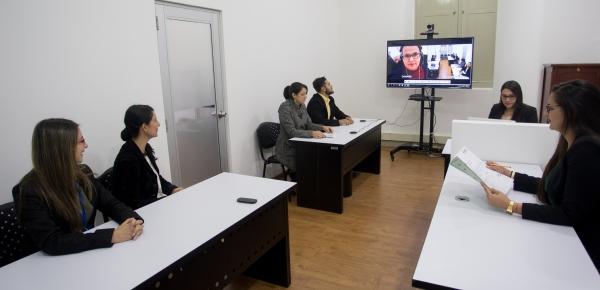 La Cancillería es una de las pocas entidades en Bogotá que cuenta con sala de audiencias para procesos disciplinarios verbales