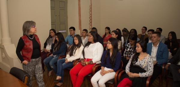 Funcionarios de la Academia Diplomática explicaron las funciones del Ministerio de Relaciones Exteriores a estudiantes de la Universidad del Cauca