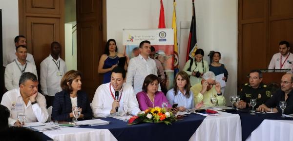Medidas para el desarrollo fronterizo en Norte de Santander fueron revisadas por cuatro ministerios