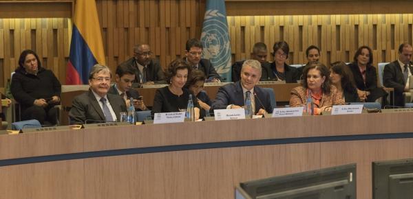 Canciller asistió a la presentación del Presidente Duque sobre Economía Naranja y Creatividad en la Unesco