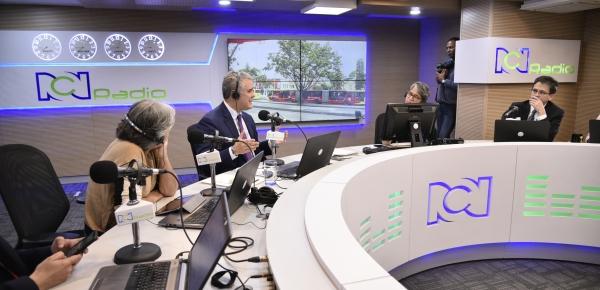 Crisis migratoria es de enorme gravedad y nos compromete a todos: Presidente Iván Duque en entrevista con RCN Radio Noticias