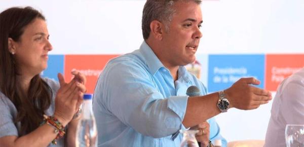Haremos todo lo que esté en nuestras manos para seguir ayudando a la liberación del pueblo venezolano: Presidente Duque
