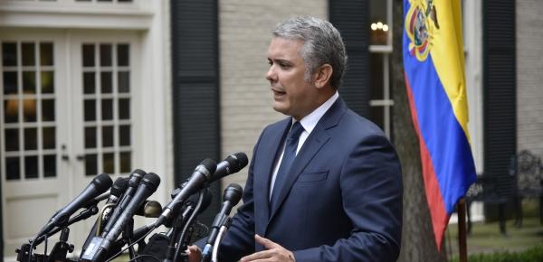 """""""Esto ha sido una gran oportunidad para el fortalecimiento de las relaciones bilaterales entre los Estados Unidos y Colombia"""": Presidente Iván Duque"""
