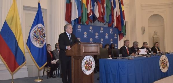 Palabras del Secretario General de la Organización de Estados Americanos, Luis Almagro, en la sesión protocolar del Consejo Permanente
