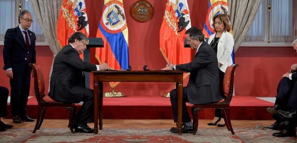 Colombia y Chile suscribieron Memorando de Cooperación en Ciberseguridad, Ciberdefensa y Cibercriminalidad
