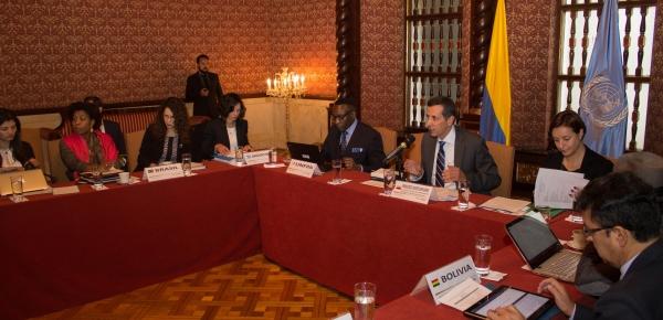 La Cancillería de Colombia es sede de la Reunión Regional sobre Población y Desarrollo y su relación con Derechos Humanos