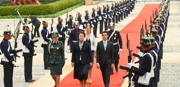 Nueva Embajadora de República Checa en Colombia presentó cartas credenciales ante el Presidente Iván Duque
