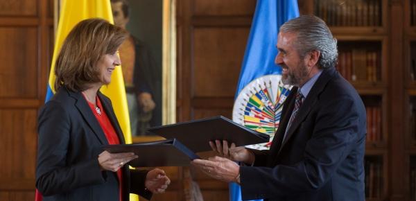 Comunicado Conjunto Cancillería-MAPP/OEA: MAPP/OEA seguirá apoyando el proceso de paz en Colombia por cuatro años más