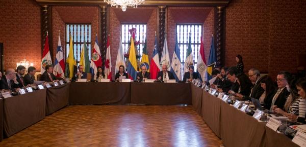 Viceministra de Asuntos Multilaterales preside la Reunión del Grupo de Lima