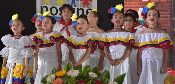 'La magia de la Navidad: Luz y arte por Colombia', niños colombianos celebran la Navidad con el Consulado de Colombia en Guadalajara