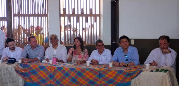 Gobierno nacional entregó hidropáneles solares, en colaboración con la Cancillería, a comunidad en La Guajira